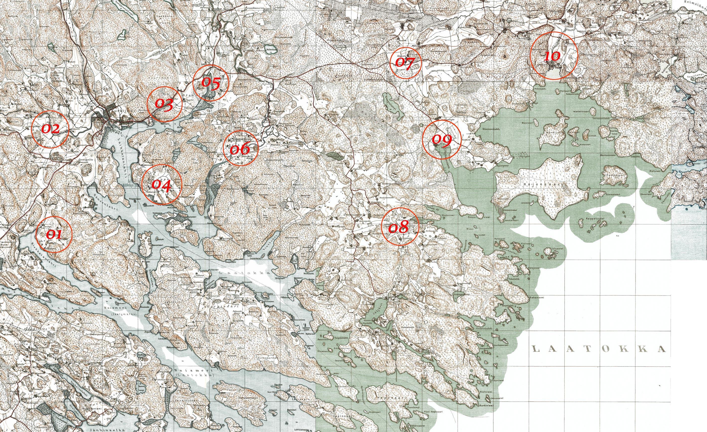 Прибрежные деревни кирьяжского погоста. ласанен (риеккала) -.